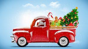weihnachten auto
